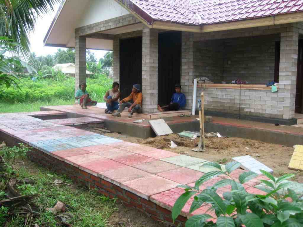ARLDF Shop House and Guard House Meruk Lemredup, Aceh Besar, Indonesia